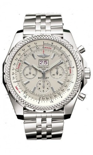 Breitling Bentley 6.75 (SS / Silver / SS)