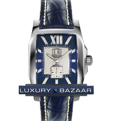 Breitling Bentley Flying B No 3 (SS / Blue / Croc Leather )
