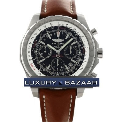 Breitling Bentley Motors T (SS / Black / Leather)