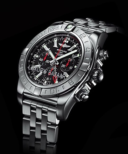 Breitling Transocean Chronograph QP Red Gold