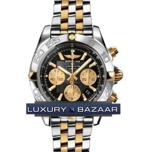 Breitling Chronomat B01 2 (SS- YG / Black / SS- YG )