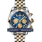 Breitling Chronomat B01 2 (SS- YG / Blue / SS- YG )