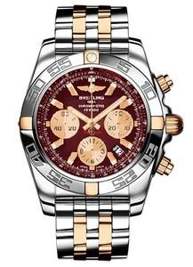 Breitling Chronomat B01 IB011012 / k524-tt (SS- YG / Burgundy / SS- YG )