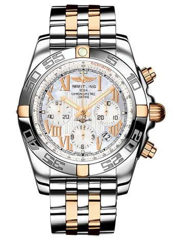 Breitling Chronomat B01 (SS- YG / MOP / SS- YG )