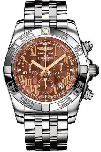 Breitling Chronomat B01 (SS / Amber / SS )