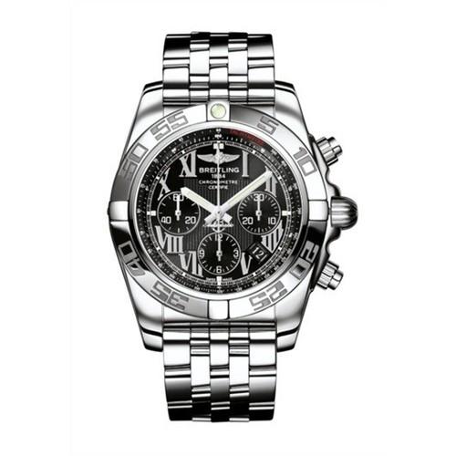 Breitling Chronomat B01 (SS / Black / SS )