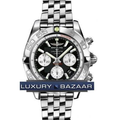 Breitling Chronomat B01 2 (SS / Black / SS )