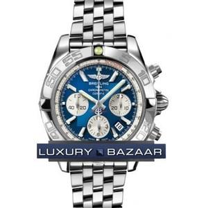 Breitling Chronomat B01 2 (SS / Blue / SS )