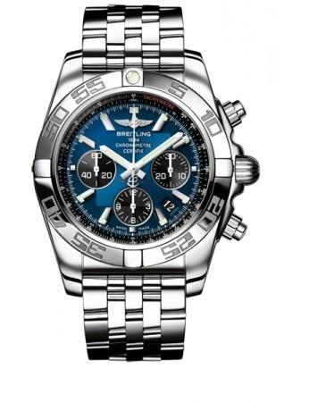 Breitling Chronomat B01 3 (SS / Blue / SS )