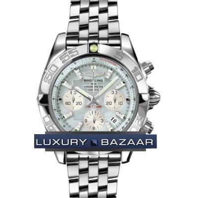 Breitling Chronomat B01 (SS / MOP- Diamonds / SS )
