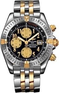 Breitling Chronomat Evolution b1335611 / b723-tt (SS- YG / Black / SS-YG)