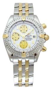 Breitling Chronomat Evolution b1335611 / g570-tt (SS- YG / White / SS-YG)