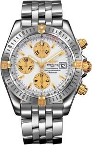 Breitling Chronomat Evolution b1335611 / g570-ss (SS- YG / White / SS)
