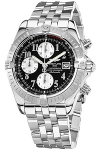Breitling Chronomat Evolution a1335611 / b721-ss (SS / Black / SS )