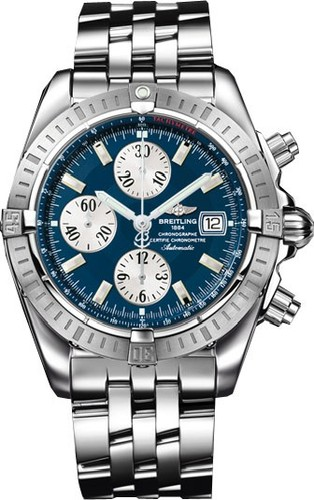 Breitling Chronomat Evolution (SS / Blue / SS