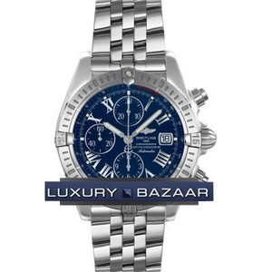 Breitling Chronomat Evolution a1335611 / c749-ss (SS / Blue / SS )