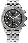 Breitling Chronomat Evolution a1335611 / f517-ss (SS / Grey / SS )