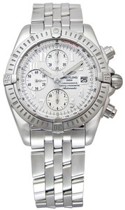 Breitling Chronomat Evolution a1335611 / g569-ss (SS / Silver / SS )