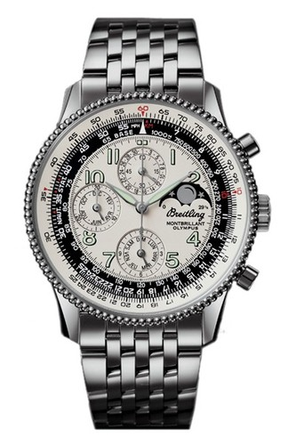 Breitling Montbrillant Olympus (SS / Silver / SS )