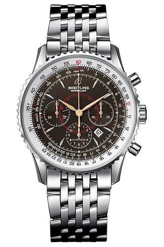 Breitling Montbrillant (SS / Black / SS)