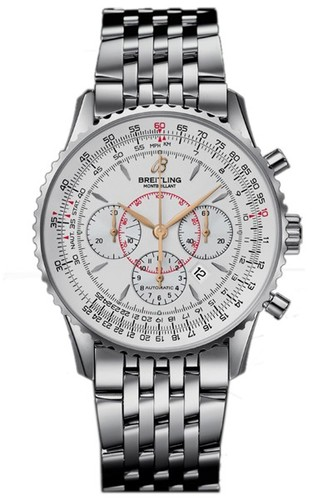 Breitling Montbrillant (SS / Silver / SS)