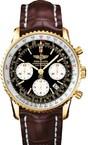 Breitling Navitimer r2332212 / b838-2CT (RG / Black / Leather)