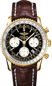 Breitling Navitimer r2332212 / b838-2CT (RG / Black / Leather)