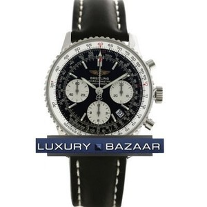 Breitling Navitimer a2332212 / b635-1LD (SS / Black / Leather)