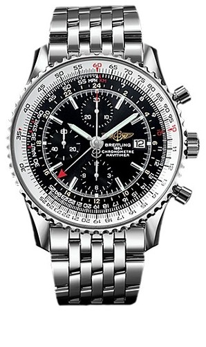 Breitling Navitimer World (SS / Black / SS)