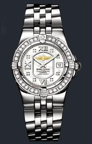 Breitling Starliner (SS - Diamonds / MOP - Diamonds / SS)
