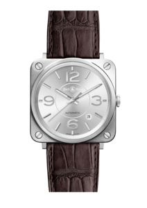 Bell & Ross BR S Officer Silver