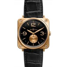 Bell & Ross BR S Black Pink Gold