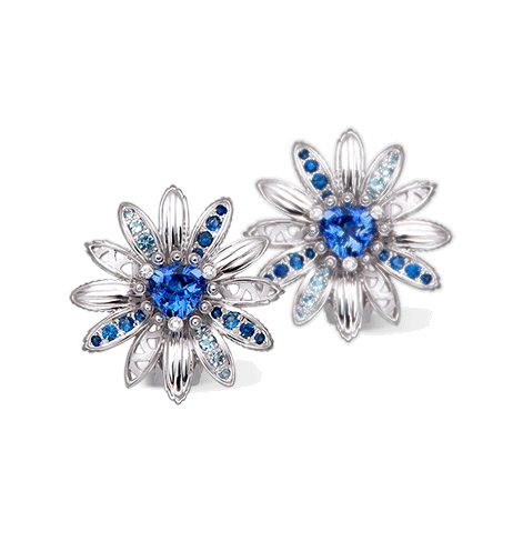 Серьги Carrera y Carrera Margarita Earrings DA14154 024204