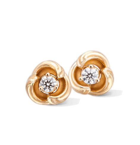 Серьги Carrera y Carrera Origen Mini Earrings DA14060 010101