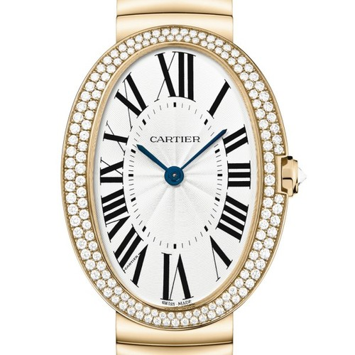 Cartier Baignoire Large (RG-Diamonds / Silver/ RG)