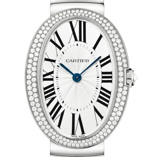 Cartier Baignoire Large (WG-Diamonds / Silver/ WG)