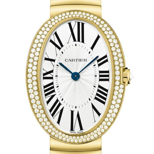 Cartier Baignoire Large (YG-Diamonds / Silver/ YG)