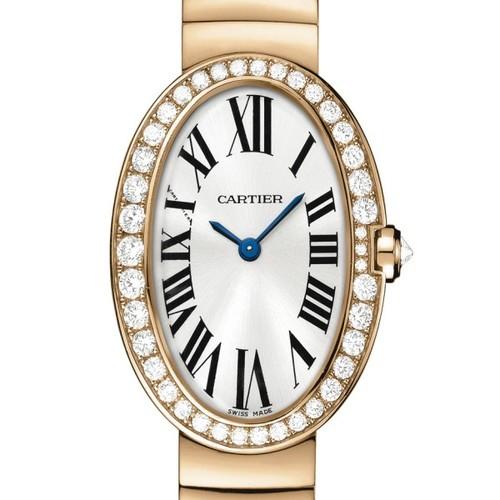 Cartier Baignoire Small (RG-Diamonds / Silver/ RG)