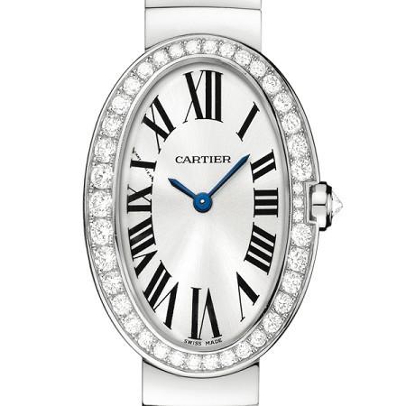 Cartier Baignoire Small (WG-Diamonds / Silver/ WG)