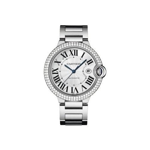 Cartier Ballon Bleu Large (WG- Diamonds / Silver/ WG)