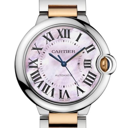 Cartier Ballon Bleu Medium (RG - SS/ MOP/ RG - SS)