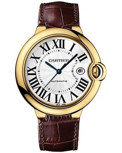 Cartier Ballon Bleu Medium (RG / Silver/ Leather)