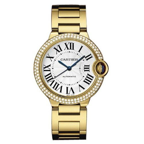Cartier Ballon Bleu Medium (YG- Diamonds / Silver/ YG)