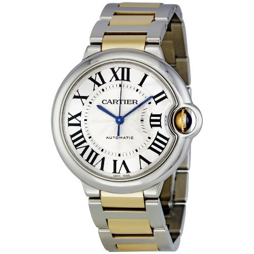 Cartier Ballon Bleu Medium (YG - SS / Silver / YG - SS)