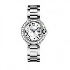 Cartier Ballon Bleu Small (WG - Diamonds / Silver / WG)