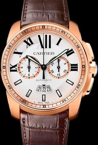 Cartier Calibre de Cartier Automatic Chronograph Cartier Calibre Chronograph RG