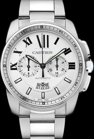 Cartier Calibre de Cartier Automatic Chronograph Cartier Calibre Chronograph Steel