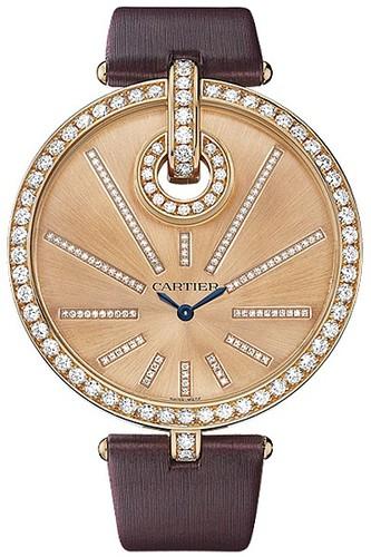 Cartier Captive De Cartier Extra Large (RG-Diamonds/ RG-Diamonds / Fabric)