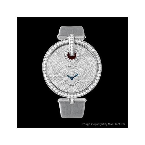 Cartier Captive De Cartier Extra Large (WG-Diamonds/ Diamonds / Fabric)