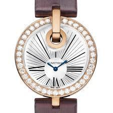 Cartier Captive De Cartier Large (RG-Diamonds/ Silver/ Fabric)